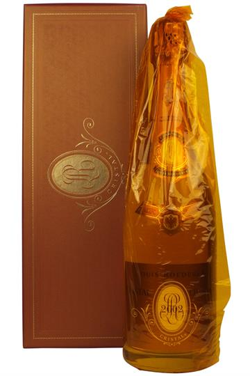 Roederer Cristal Rose 2002 75cl giftbox