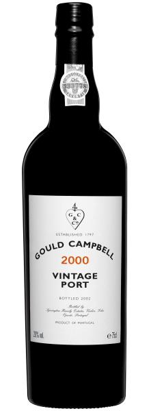 Bottle of 2000 Gould Cambell port