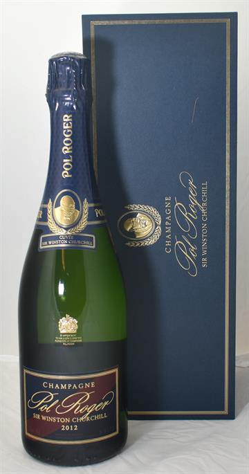 Pol Roger Winston Churchill 2012 75cl giftbox